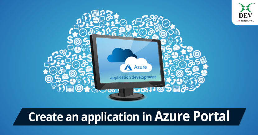 Create an application in Azure Portal