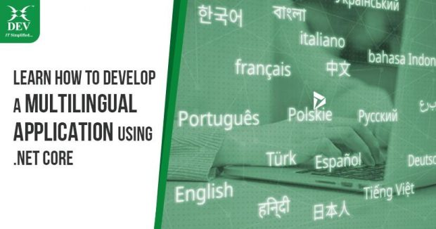 Developing A Multilingual Application Using .Net Core