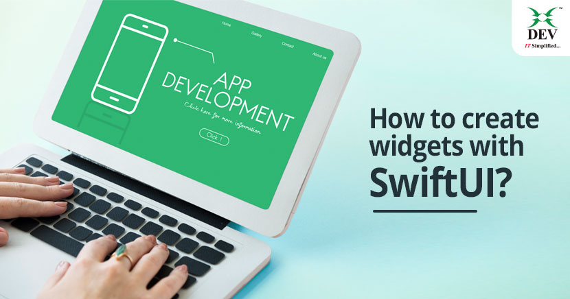 How to create widgets with SwiftUI