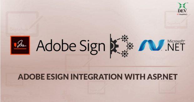 Adobe eSign integration with ASP.NET