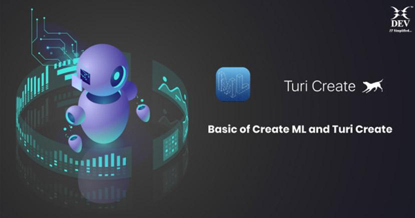 Basics of Create ML and Turi Create