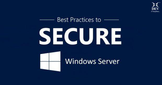 Best Practices for Securing Windows Server
