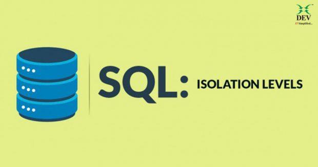 Isolation levels in SQL Server