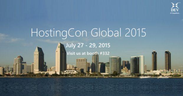 Meet Us at HostingCon 2015, Booth #332   San Diego Convention Center   San Diego