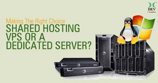 Shared vs VPS vs Dedicated Hosting – What to Choose?