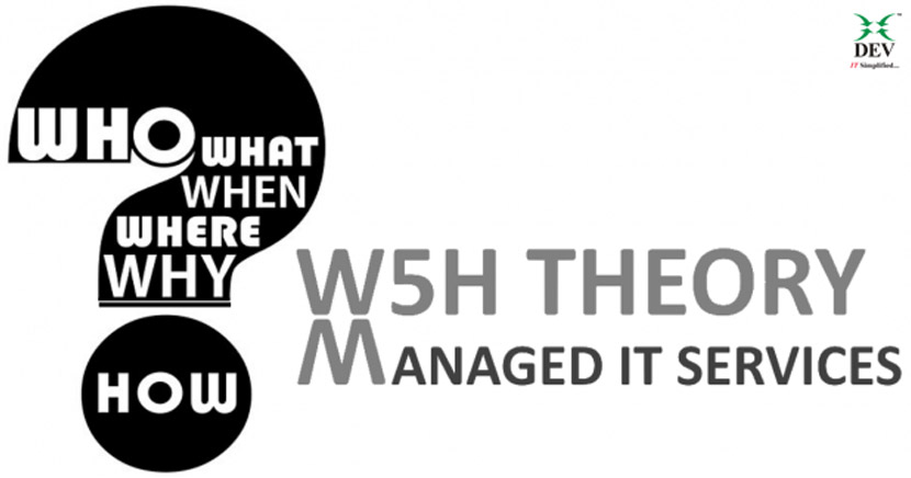 W5H Theory for Managed IT Services